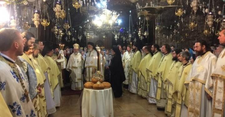 بطريركية الروم الارثوذكس تحتفل بعيد ميلاد والدة الإله