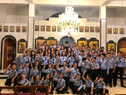 المفرق تحيي غروب عيد الصليب