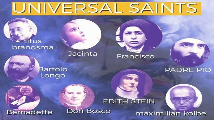 Universal Saints