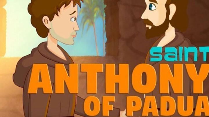 Saint Anthony – cartoon