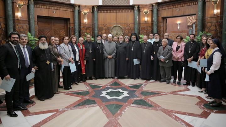 """""""الأخوّة الإنسانيّة"""" تجمع مجلس كنائس مصر وشيخ الأزهر"""