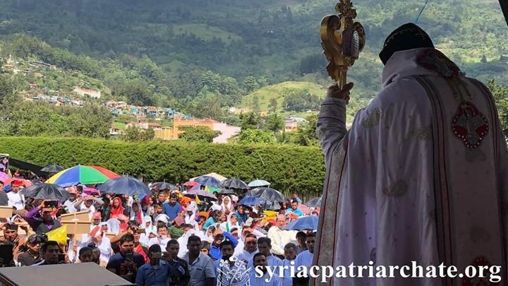 أفرام الثّاني يصلّي في غواتيمالا من أجل حماية المؤمنين في مدينة القامشليّ