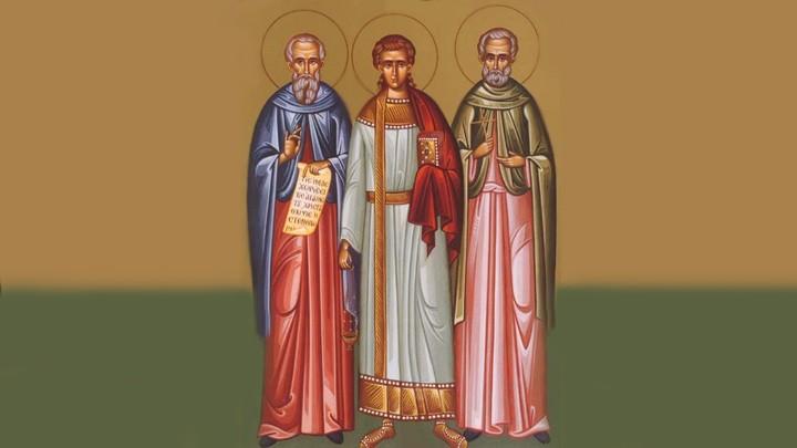 في ذكرى شهادة قدّيسين ثلاثة...