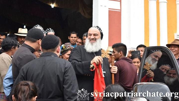 أفرام يترأّس قدّاسًا في غواتيمالا ويتذكّر شهداءها وشهداء سيفو