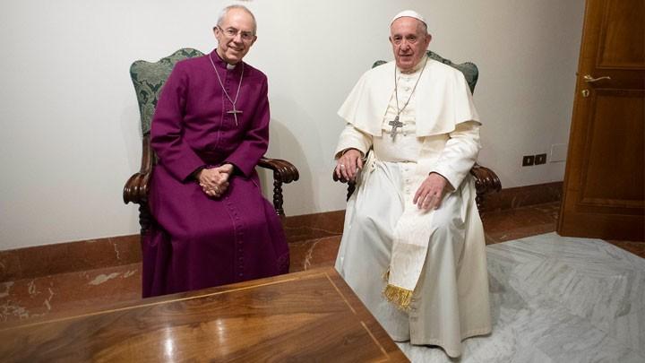 البابا وويلبي يجدّدان نيّتهما بزيارة جنوب السّودان معًا