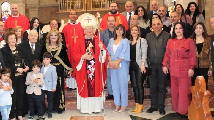 تجديد عهود الزّواج في كنيسة القدّيسة كاترينا- بيت لحم