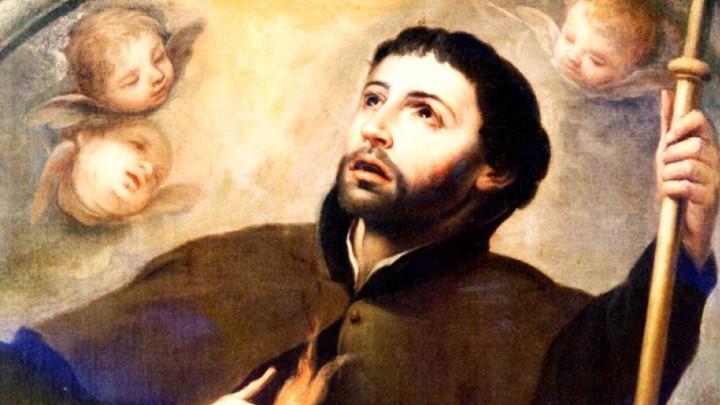 هو القدّيس فرنسيس كسفاريوس...