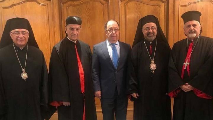 مجلس بطاركة الشّرق الكاثوليك في زيارة إلى السّفارة اللّبنانيّة- القاهرة