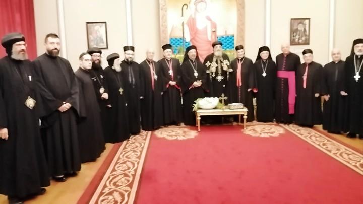 مجلس بطاركة الشّرق الكاثوليك زار تواضروس الثّاني وأطلق جملة من المواقف الكنسيّة والوطنيّة