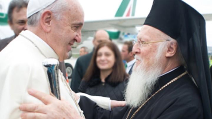 رسالة من البابا فرنسيس إلى برتلماوس الأوّل