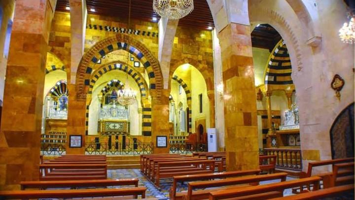 كاتدرائيّة أمّ المعونة للأرمن الكاثوليك في حلب ترتدي حلّة جديدة والمدينة تتحضر للافتتاح والتّدشين