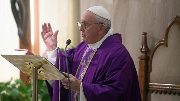 البابا فرنسيس: الرّبّ هو الصّخرة ومن يضع ثقته به يعيش بأمان على الدّوام