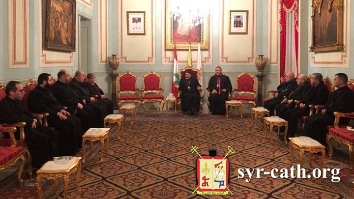 هيئات المحاكم الكنسيّة للسّريان الكاثوليك تجتمع مع البطريرك يونان