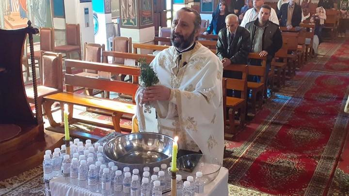 كاتدرائيّة القدّيس جاورجيوس في العراق احتفلت بالظّهور الإلهيّ