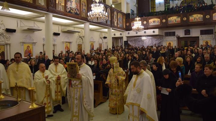 العبسيّ ترأّس عيد الظّهور الإلهيّ في سيّدة دمشق – القصور
