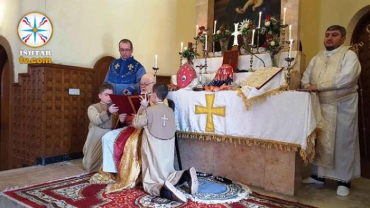 هكذا أحيا الأرمن الأرثوذكس في العراق عيد الميلاد المجيد