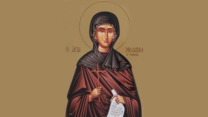 بطريركية الارثوذكس في القدس تحيي عيد القديسة ميلاني