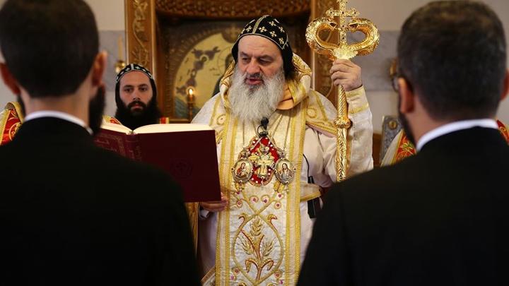 في عيد مار أنطونيوس، راهبان جديدان في كنيسة السّريان الأرثوذكس- سوريا