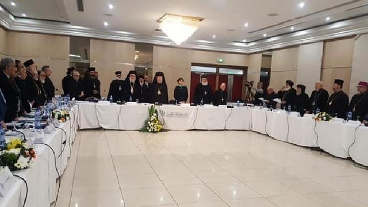 إجتماع لمجلس كنائس الشّرق الأوسط في لارنكا