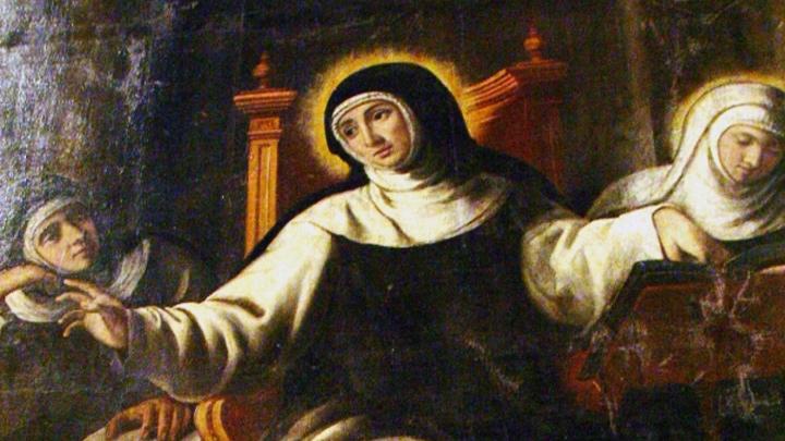 من أرملة بارّة إلى قدّيسة العطاء، من هي؟