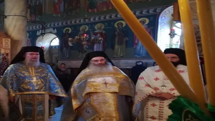 البطريركية الأورشليمية تحتفل بعيد القديس البار ثيوذوسيوس
