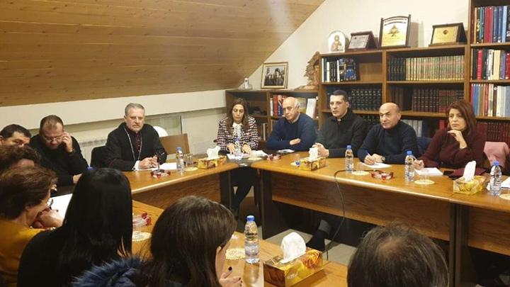 لقاء بين المطران عون والجمعيّات الإنسانيّة في أبرشيّة جبيل المارونيّة، والسّبب؟