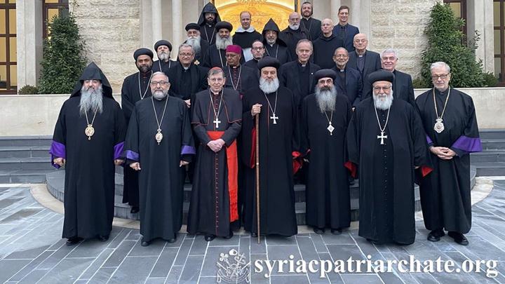 أفرام الثّاني يشدّد على أهمّيّة وحدة الكنيسة