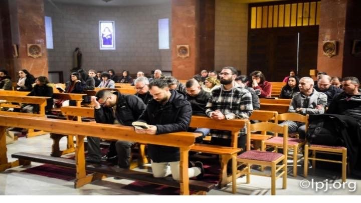 بطريركية القدس للاتين تنظم رياضة روحية بمناسبة بدء زمن الصوم