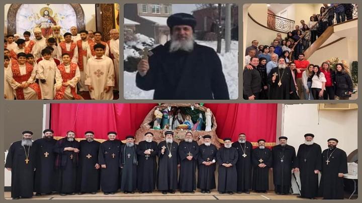 الأنبا مقار تفقّد كنائس كندا وعاد إلى القاهرة