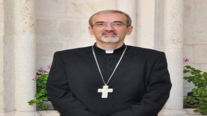 """المطران بيتسابالا: """"لا ينبغي لنا اعتبار القربان الأقدس عنصرًا سحريًا، فالاتحاد مع المسيح لا يلغي كوننا بشرًا"""""""