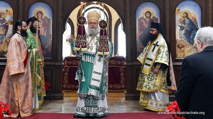 يوحنّا العاشر يترأّس قدّاس الأحد الأوّل من الصّوم في دمشق