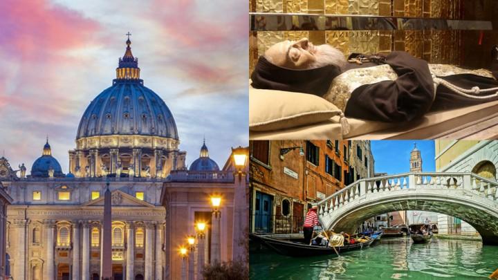 رحلة حج إلى إيطاليا (8 أيّام/7 ليال)