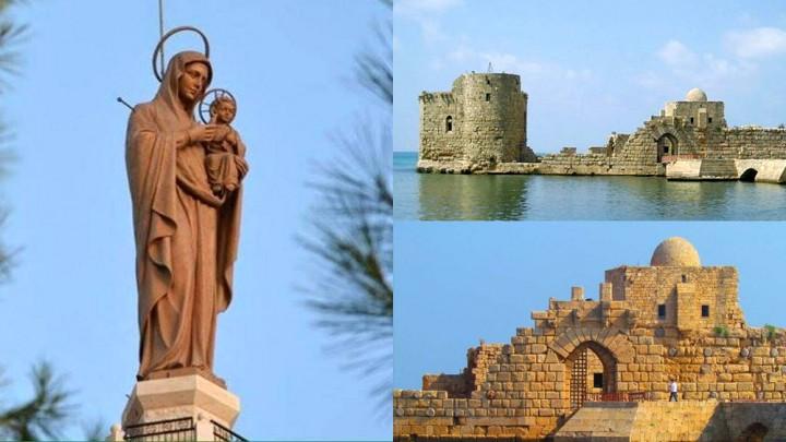 رحلة إلى سيّدة مغدوشة وصيدا ودير المخلّص