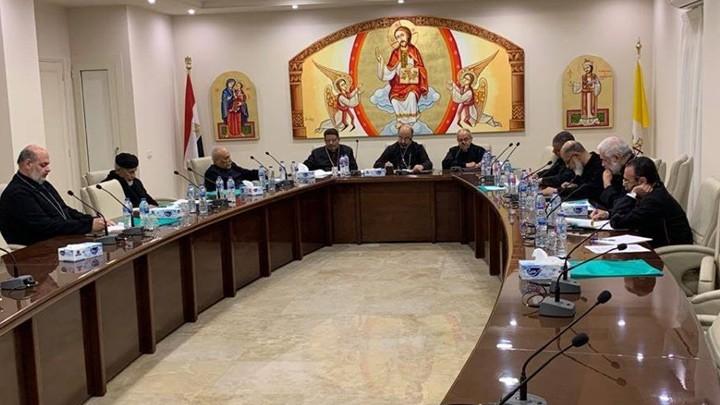 السّينودس البطريركيّ للأقباط الكاثوليك يعقد اجتماعه الدّوريّ