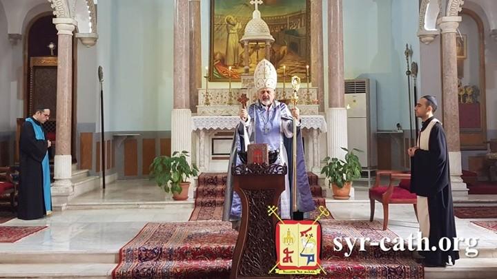 يونان يطلب شفاعة سيّدة البشارة في هذه الأيّام الحرجة
