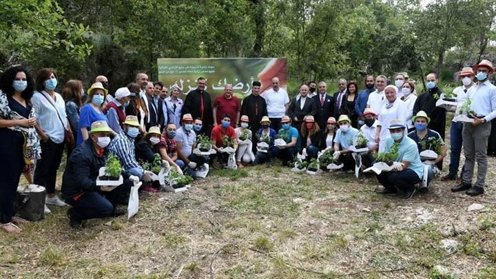 """الرّاعي أطلق الدّورات التّدريبيّة الزّراعيّة للشّبيبة في إطار مبادرة """"أرضك كنزك"""""""