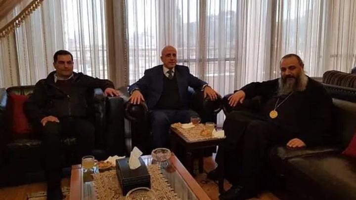 المتروبوليت الصّوريّ استقبل مدير عام مؤسّسة مياه البقاع