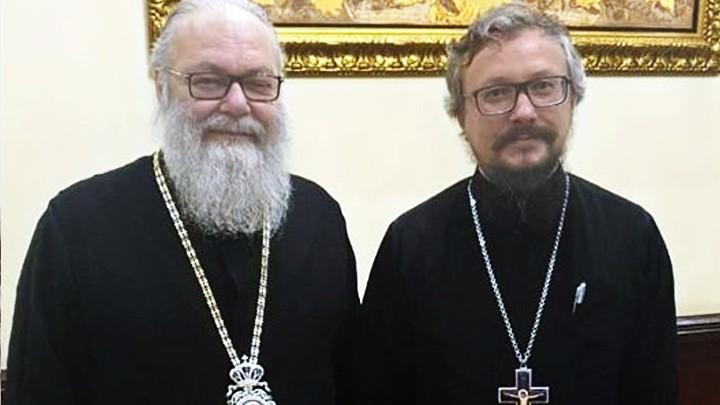لقاء بين يوحنّا العاشر وممثّل البطريرك كيريل في دمشق