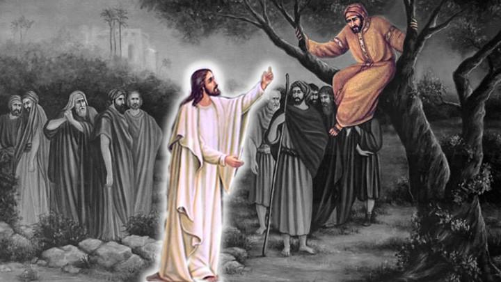 خاصّ- من هو زكّا وكيف حلّ الخلاص في بيته؟
