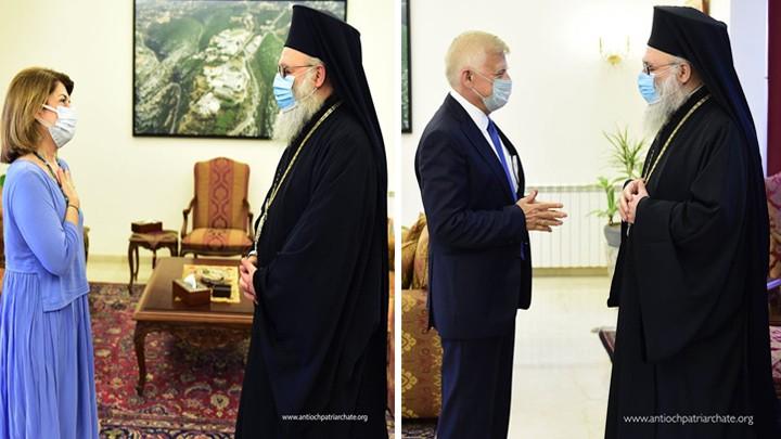 سفيرا اليونان وروسيا في البلمند، والسّبب؟