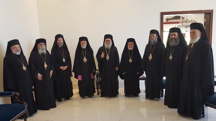لقاء تضامنيّ في مطرانيّة بيروت للرّوم الأرثوذكس ونداء لمعالجة الأسباب الّتي أدّت إلى هذه الكارثة بدون تهاون