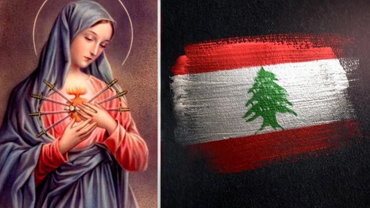 يا سيّدة الأوجاع داوي أوجاع لبنان