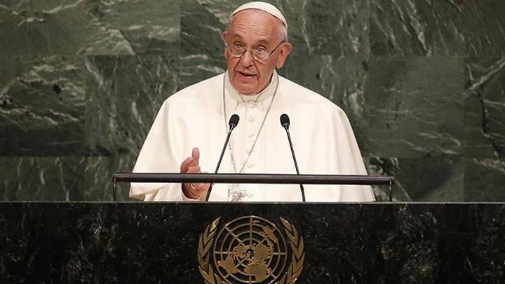 البابا فرنسيس يوجّه رسالة إلى الأمم المتّحدة في أواخر أيلول