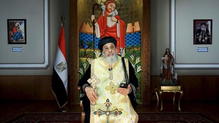 تواضروس الثّاني يصلّي من أجل لبنان في كلمته خلال اجتماع مجلس كنائس الشّرق الأوسط في بكركي