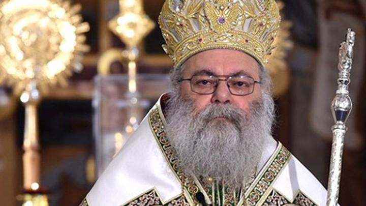يوحنّا العاشر ينعي حبيب لاوند ابن كنيسة أنطاكية وسفيرها إلى اليونان كنيسةً وشعبًا