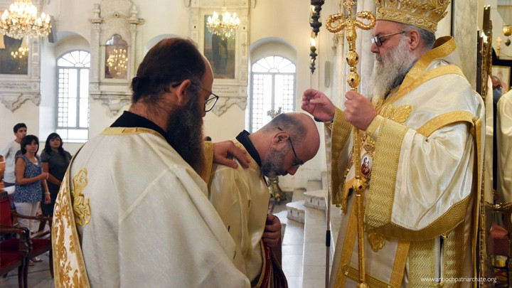 بوضع يد يوحنّا العاشر، كاهن جديد في دمشق