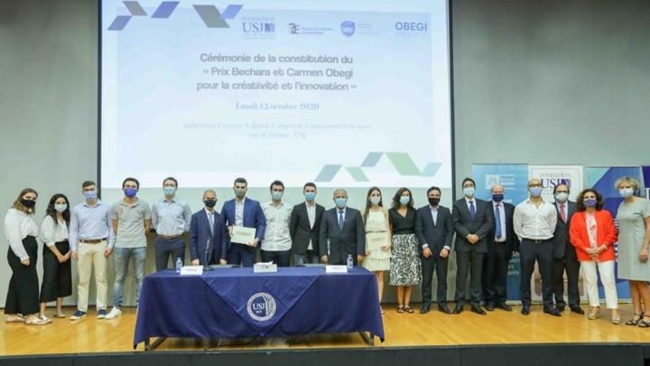 جائزة بشارة وكارمن عبجي للإبداع والابتكار في اليسوعية