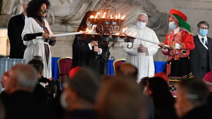 البابا من ساحة الكابيتول: إنهاء الحرب هو واجبٌ ملحّ على جميع القادة السّياسيّين أمام الله