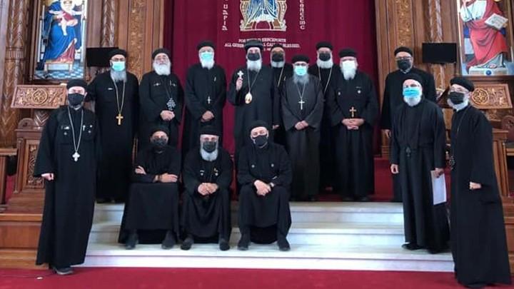 كهنة تورنتو للأقباط الأرثوذكس يجتمعون حضوريًا وعن بُعد