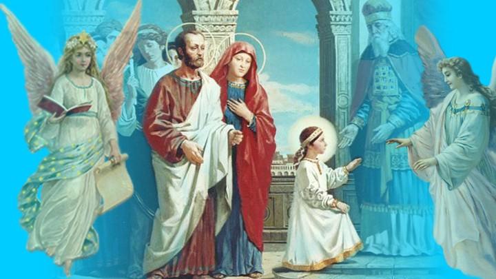 لندخل مع مريم إلى الهيكل